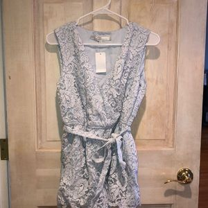 Lovers + Friends Lace Romper NWT